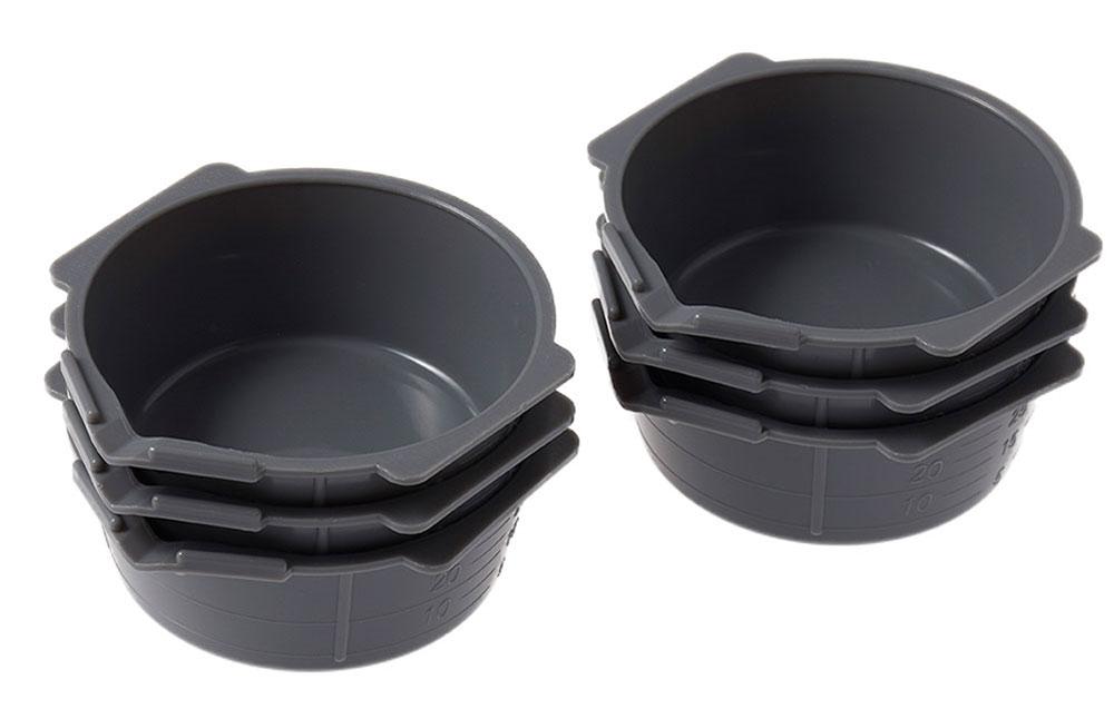 Mr.塗料カップ グレー 6個入りカップ(GSIクレオス塗装支援ツールNo.GT-115G)商品画像_1