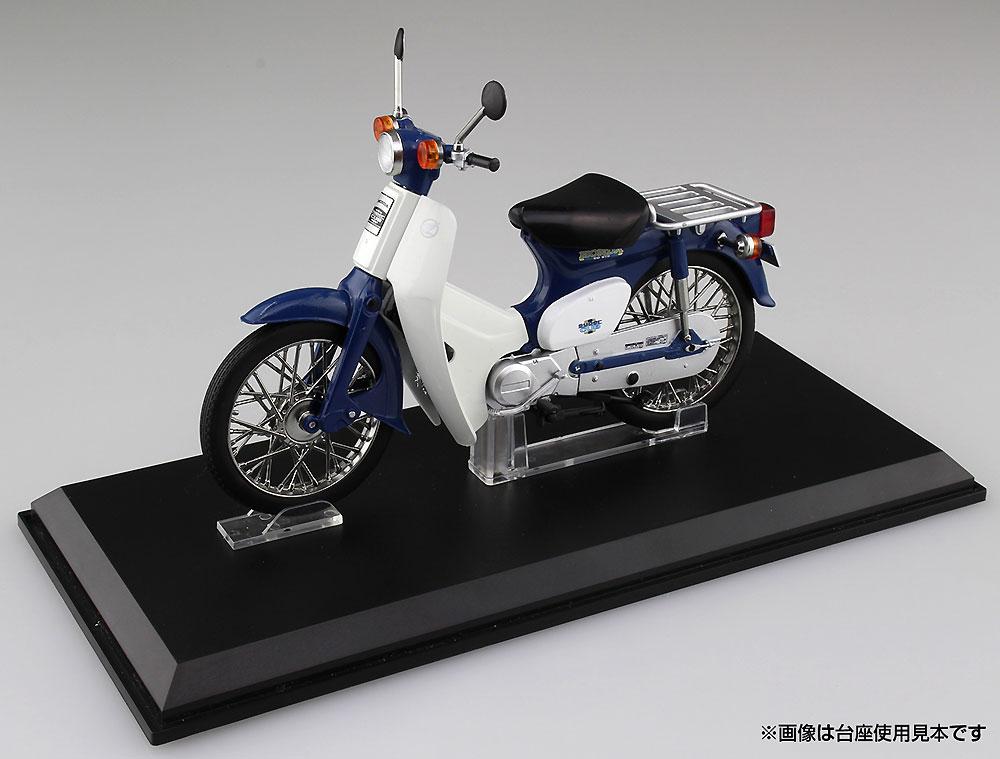 ホンダ スーパーカブ 50 ブルー完成品(アオシマ1/12 完成品バイクシリーズNo.105665)商品画像_1