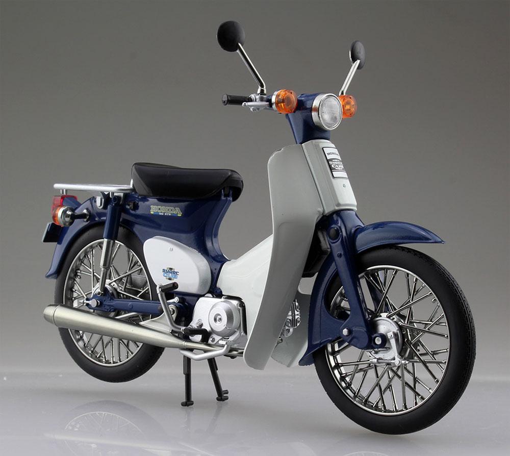 ホンダ スーパーカブ 50 ブルー完成品(アオシマ1/12 完成品バイクシリーズNo.105665)商品画像_2