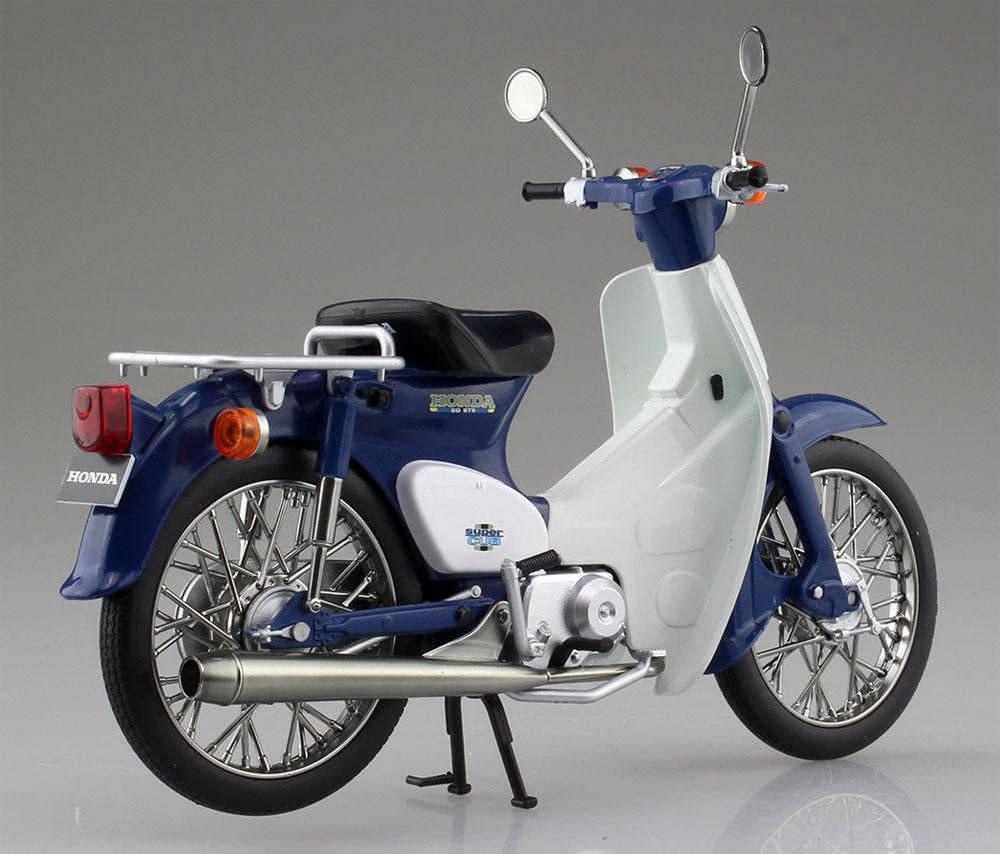 ホンダ スーパーカブ 50 ブルー完成品(アオシマ1/12 完成品バイクシリーズNo.105665)商品画像_3