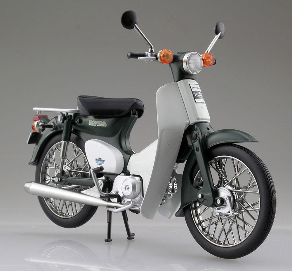 ホンダ スーパーカブ 50 グリーン完成品(アオシマ1/12 完成品バイクシリーズNo.105658)商品画像_2