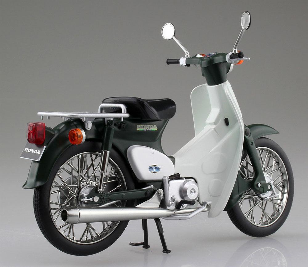ホンダ スーパーカブ 50 グリーン完成品(アオシマ1/12 完成品バイクシリーズNo.105658)商品画像_3