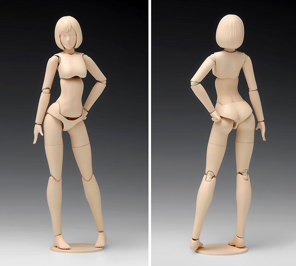 ムーバブルボディ 女性型 Aバージョンプラモデル(ウェーブオプションシステム (プラユニット)No.SR-022)商品画像_2