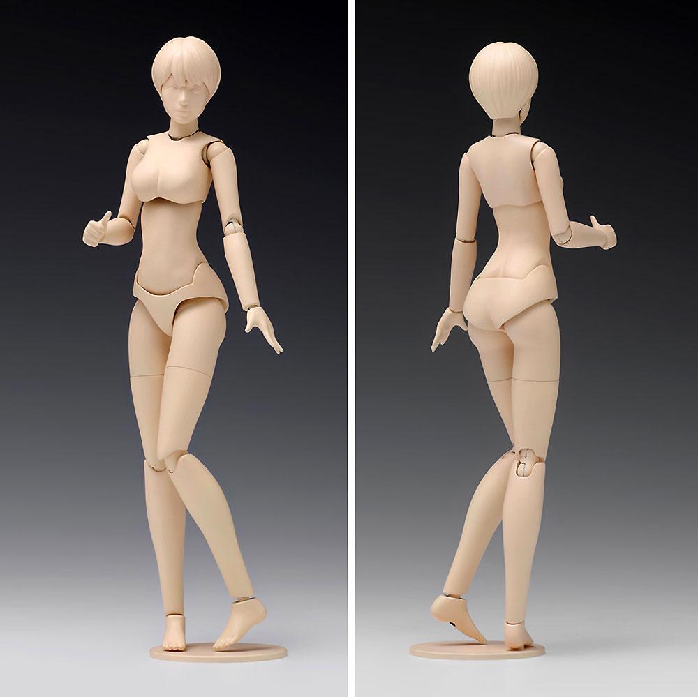 ムーバブルボディ 女性型 Bバージョンプラモデル(ウェーブオプションシステム (プラユニット)No.SR-023)商品画像_2