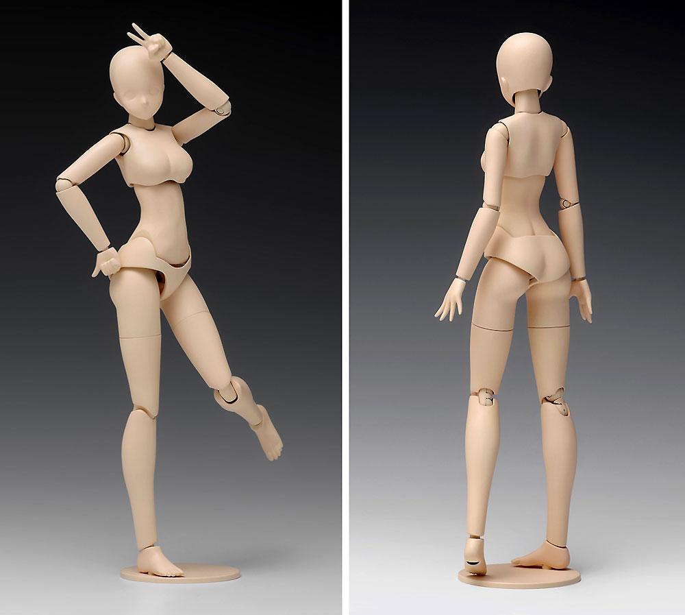 ムーバブルボディ 女性型 Bバージョンプラモデル(ウェーブオプションシステム (プラユニット)No.SR-023)商品画像_4