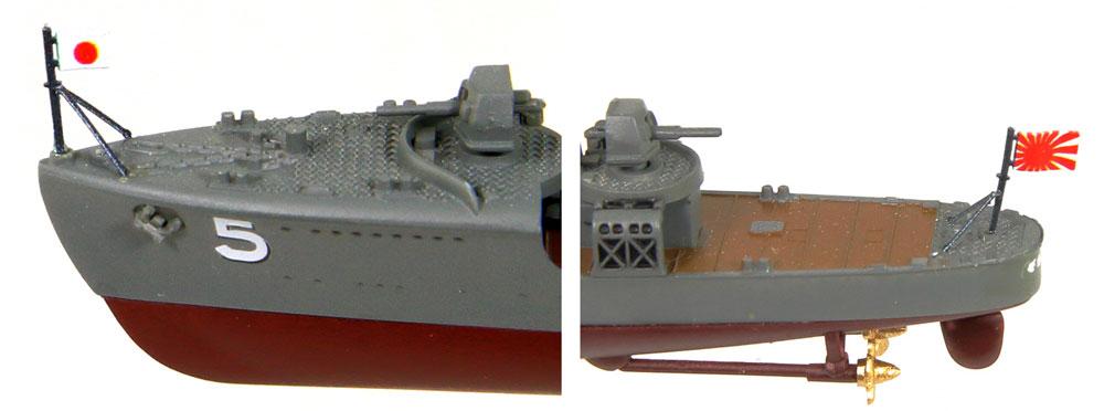 日本海軍 神風型 駆逐艦 旗風プラモデル(ピットロード1/700 スカイウェーブ W シリーズNo.SPW063)商品画像_4