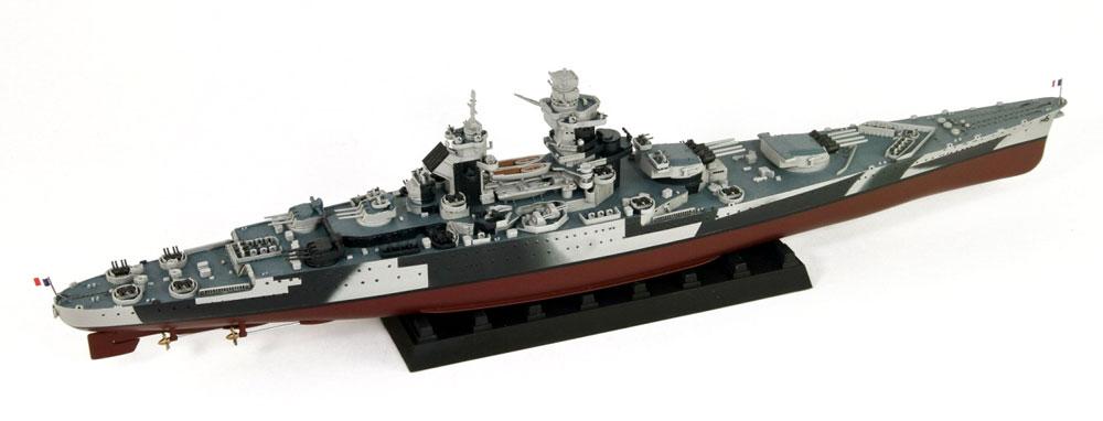 フランス海軍 リシュリュー級戦艦 リシュリュー 1943/1946 旗・艦名プレート エッチングパーツ付きプラモデル(ピットロード1/700 スカイウェーブ W シリーズNo.W184NH)商品画像_3