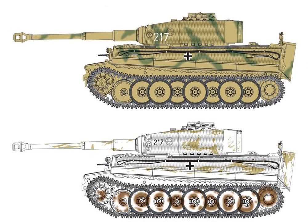 Sd.Kfz.181 ティーガー 1 中期生産型 w/ツィメリットコーティング オットー・カリウス マリナーファの戦い 1944プラモデル(ドラゴン1/35 '39-'45 SeriesNo.6888)商品画像_2