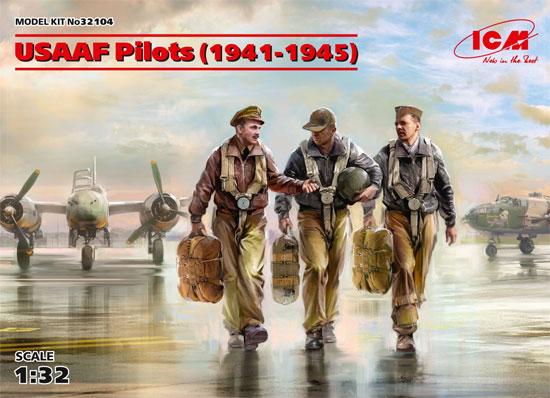 USAAF パイロット 1941-1945プラモデル(ICM1/32 エアクラフトNo.32104)商品画像