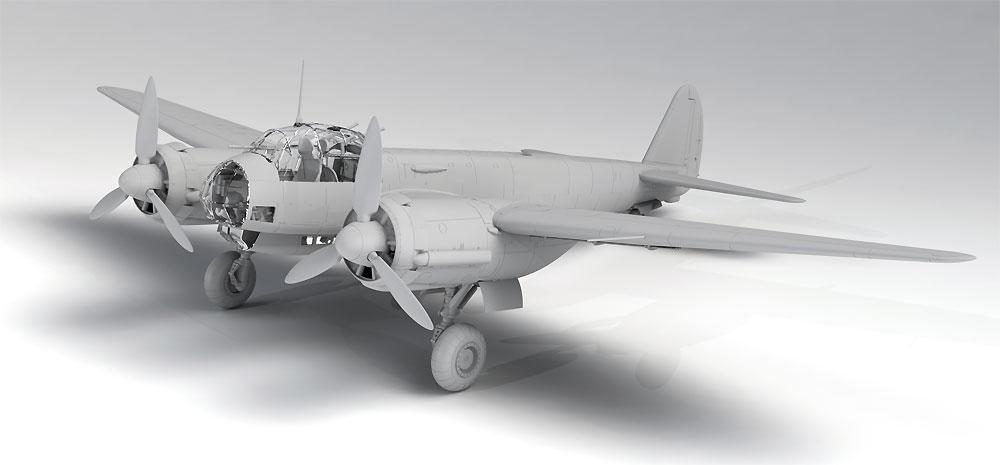 ユンカース Ju88D-1 長距離偵察機プラモデル(ICM1/48 エアクラフト プラモデルNo.48240)商品画像_2