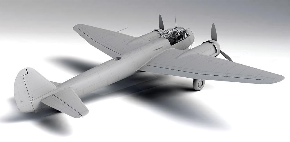 ユンカース Ju88D-1 長距離偵察機プラモデル(ICM1/48 エアクラフト プラモデルNo.48240)商品画像_3