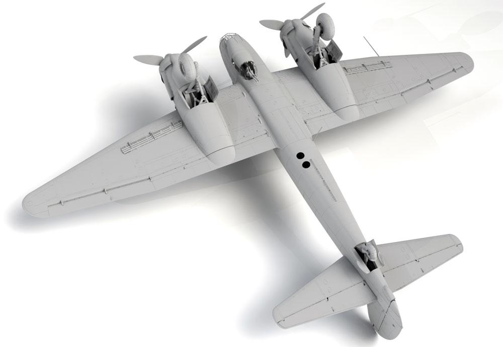 ユンカース Ju88D-1 長距離偵察機プラモデル(ICM1/48 エアクラフト プラモデルNo.48240)商品画像_4