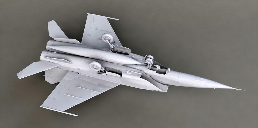 MiG-25 RBFプラモデル(ICM1/72 エアクラフト プラモデルNo.72174)商品画像_4