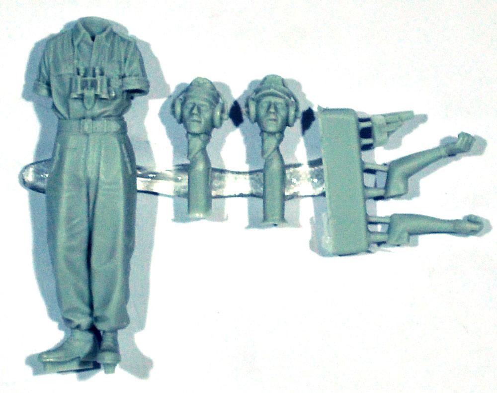 WW2 ドイツ陸軍 上着を脱いだ夏場の戦車兵 #1レジン(アルパイン1/35 フィギュアNo.35263)商品画像_1