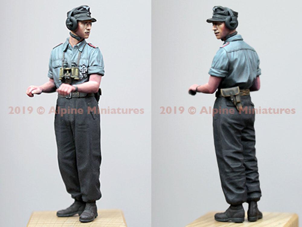 WW2 ドイツ陸軍 上着を脱いだ夏場の戦車兵 #1レジン(アルパイン1/35 フィギュアNo.35263)商品画像_3