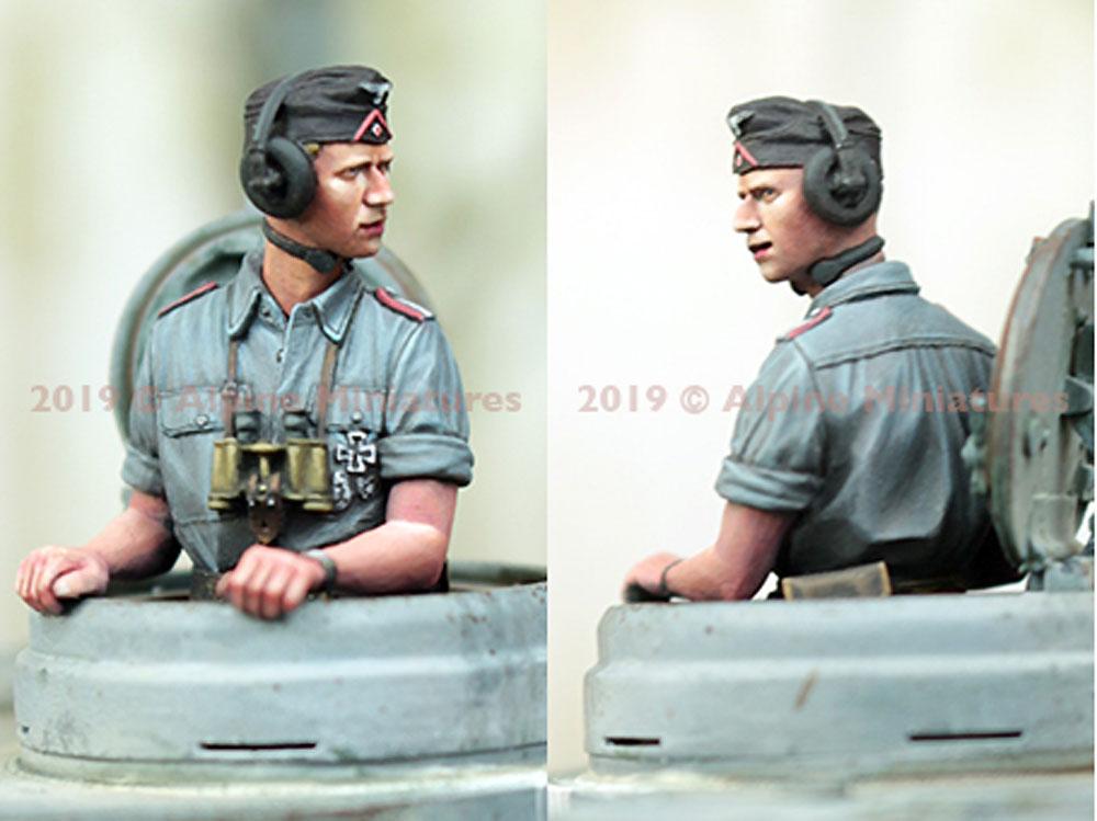 WW2 ドイツ陸軍 上着を脱いだ夏場の戦車兵 #1レジン(アルパイン1/35 フィギュアNo.35263)商品画像_4