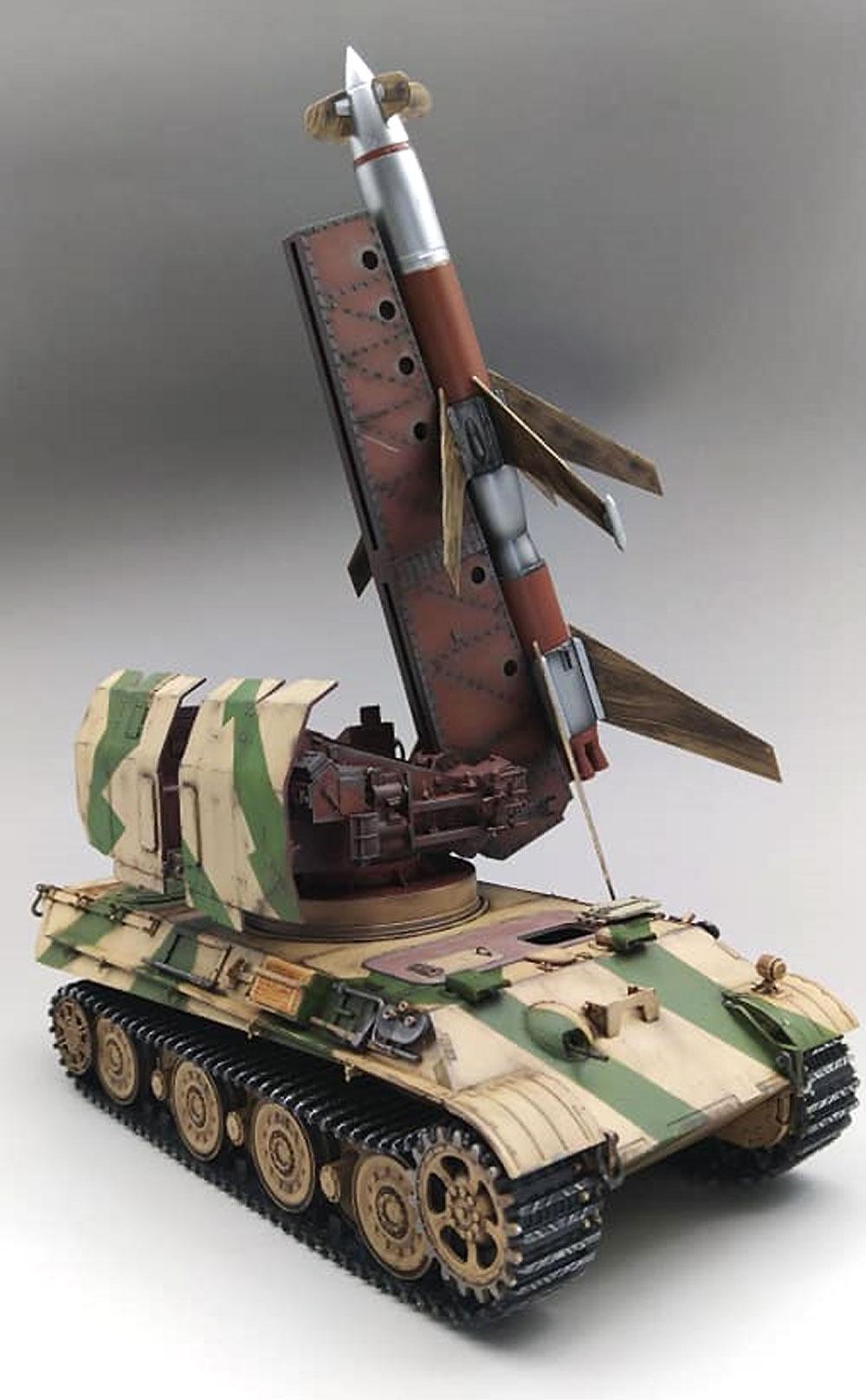 ドイツ 地対空ミサイル ライントホター R1 自走対空ミサイル パンター2車体プラモデル(アミュージングホビー1/35 ミリタリーNo.35A036)商品画像_3