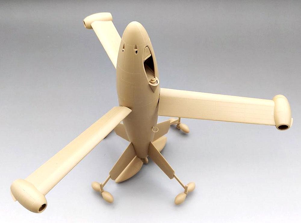 フォッケウルフ トリープフリューゲル ドイツ 垂直離着陸迎撃機プラモデル(アミュージングホビー1/48 エアクラフトNo.48A001)商品画像_2