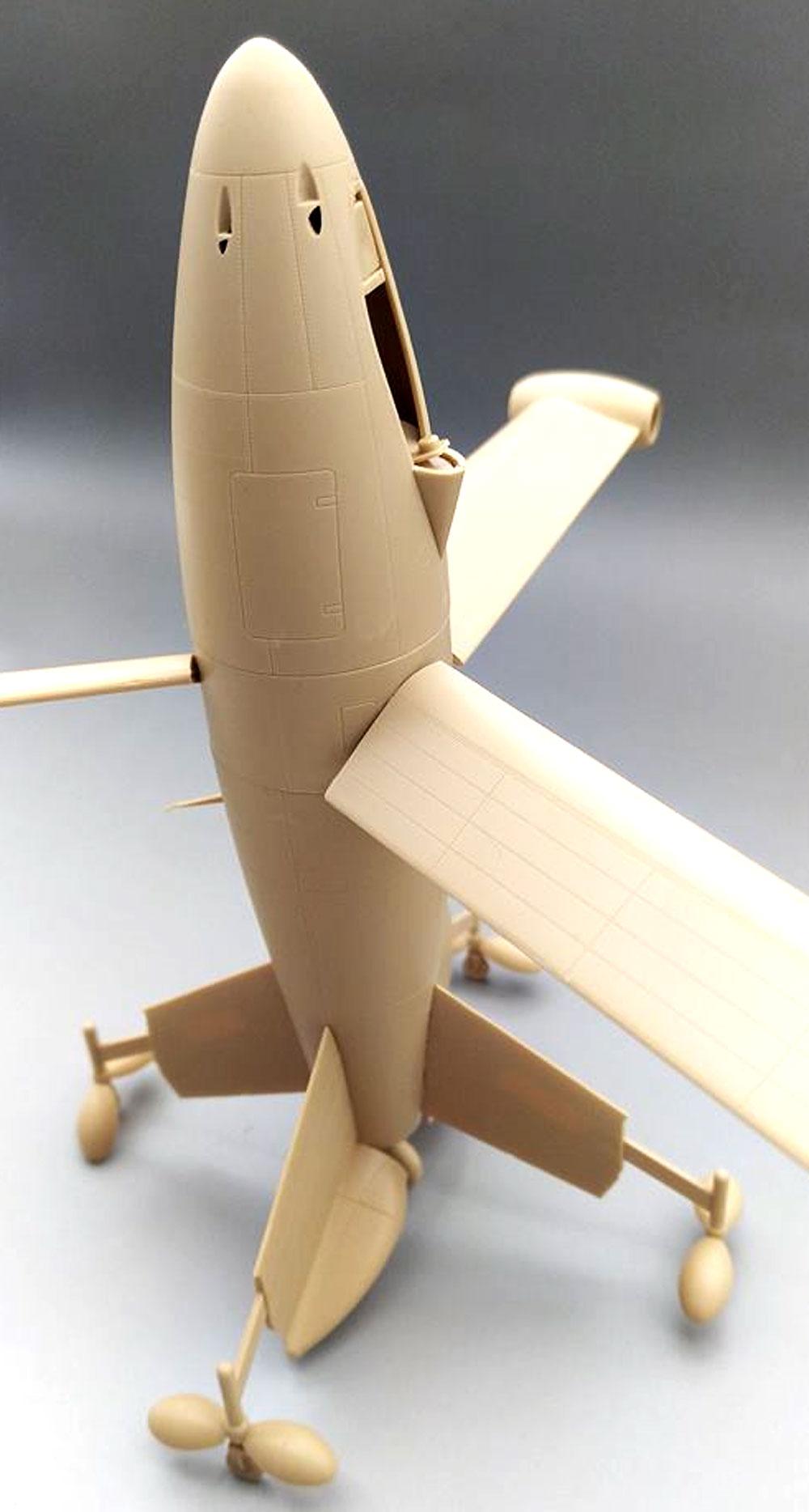 フォッケウルフ トリープフリューゲル ドイツ 垂直離着陸迎撃機プラモデル(アミュージングホビー1/48 エアクラフトNo.48A001)商品画像_3