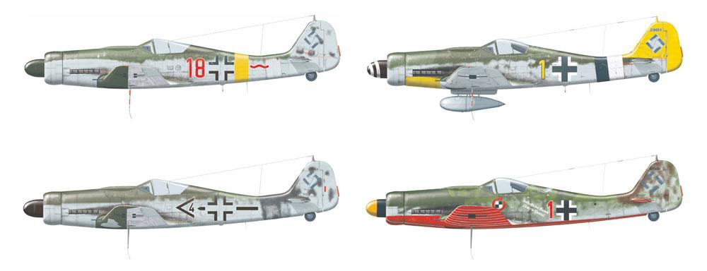 フォッケウルフ Fw190D-9プラモデル(エデュアルド1/144 SUPER44No.4461)商品画像_3