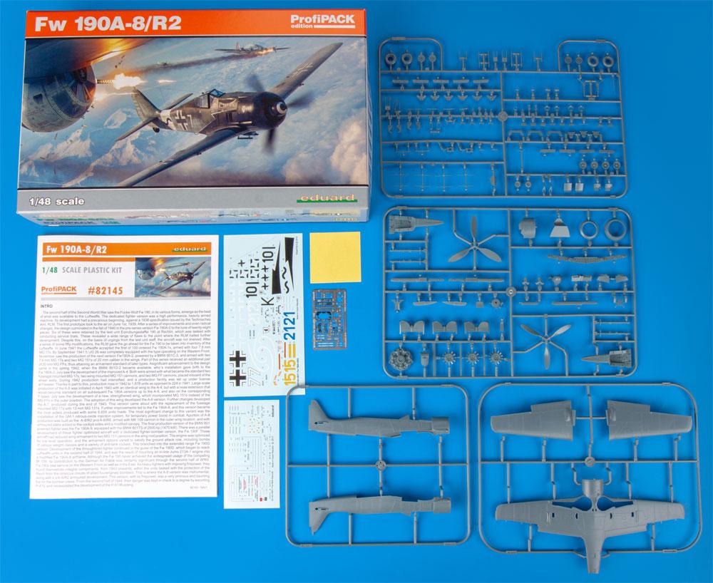 フォッケウルフ Fw190A-8/R2プラモデル(エデュアルド1/48 プロフィパックNo.82145)商品画像_1