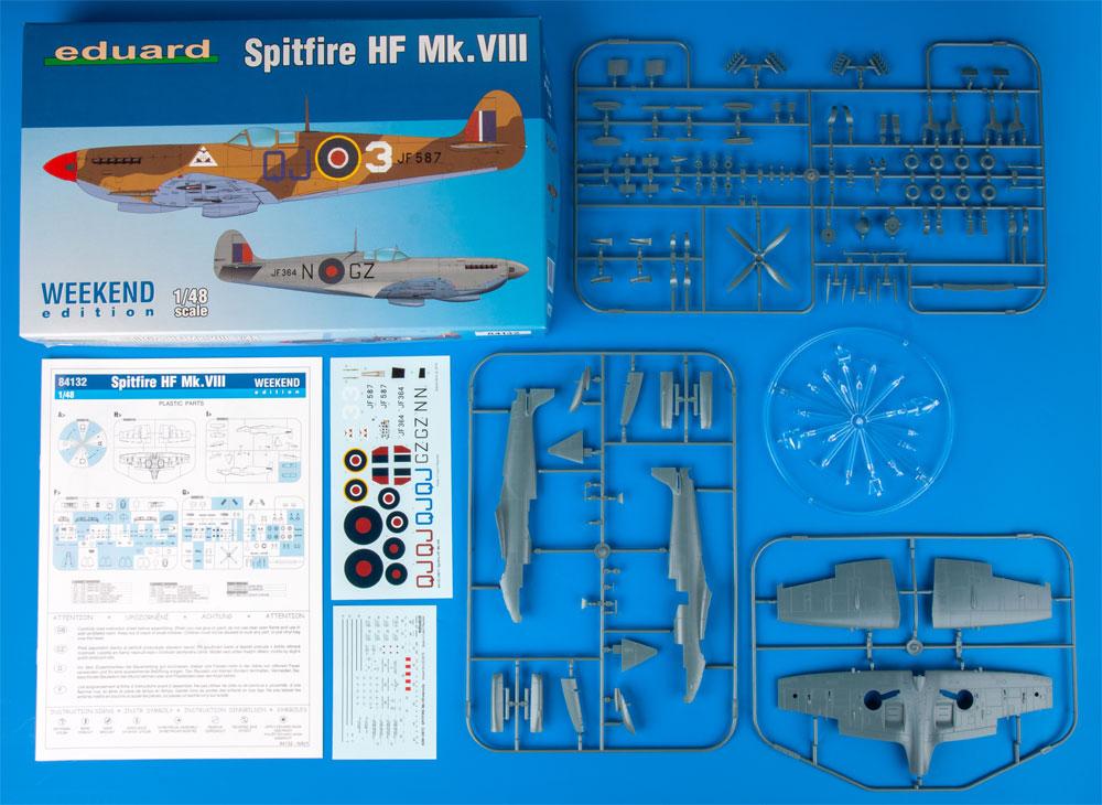 スピットファイア HF Mk.8プラモデル(エデュアルド1/48 ウィークエンド エディションNo.84132)商品画像_1