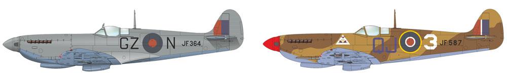スピットファイア HF Mk.8プラモデル(エデュアルド1/48 ウィークエンド エディションNo.84132)商品画像_3