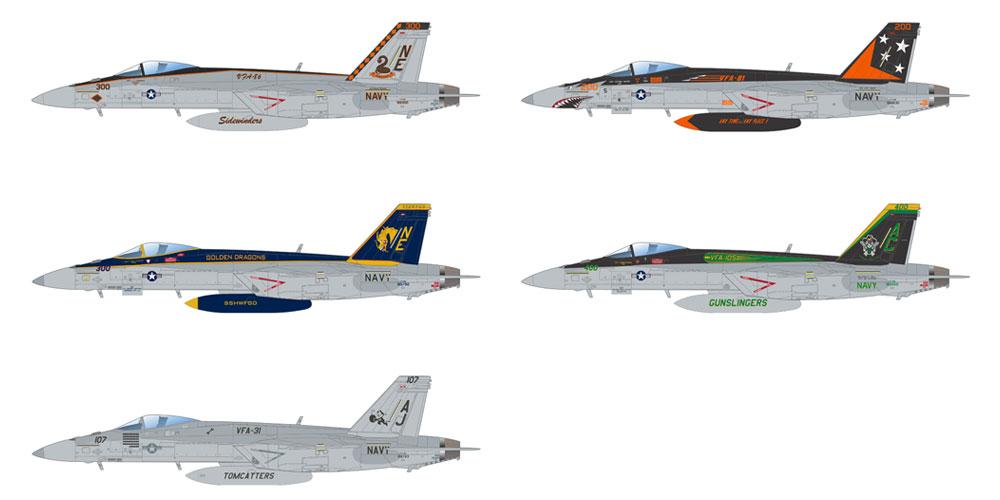 スーパーバグ F/A-18E スーパーホーネットプラモデル(エデュアルド1/48 リミテッドエディションNo.11129)商品画像_3