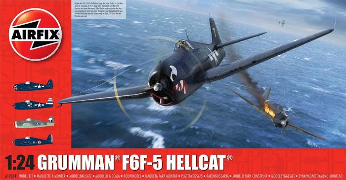 グラマン F6F-5 ヘルキャットプラモデル(エアフィックス1/24 ミリタリーエアクラフトNo.A19004)商品画像
