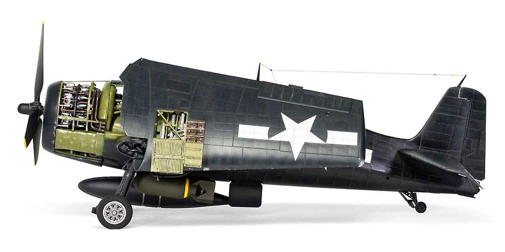 グラマン F6F-5 ヘルキャットプラモデル(エアフィックス1/24 ミリタリーエアクラフトNo.A19004)商品画像_3