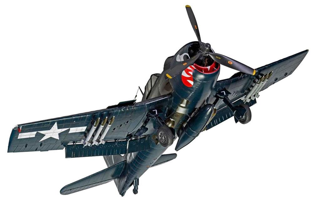 グラマン F6F-5 ヘルキャットプラモデル(エアフィックス1/24 ミリタリーエアクラフトNo.A19004)商品画像_4