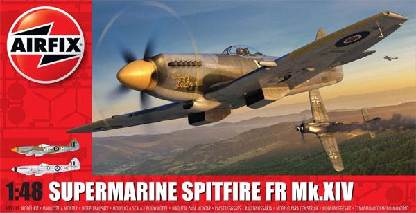 スーパーマリン スピットファイア FR Mk.14プラモデル(エアフィックス1/48 ミリタリーエアクラフトNo.A05135)商品画像