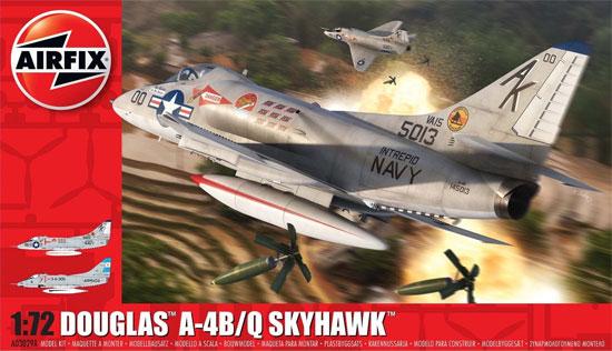 ダグラス A-4B/Q スカイホークプラモデル(エアフィックス1/72 ミリタリーエアクラフトNo.A03029A)商品画像