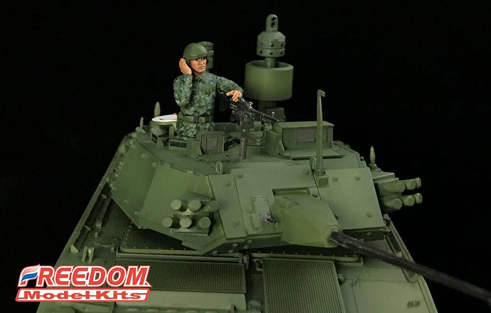 ROCA 装甲車両 クループラモデル(フリーダムモデル1/35 ミリタリーミニチュアワールドNo.135001)商品画像_3