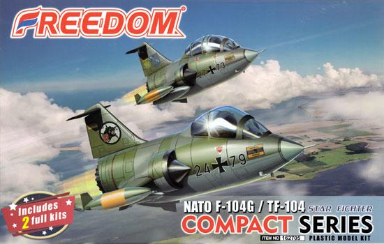 NATO F-104G & TF-104 スターファイタープラモデル(フリーダムモデルコンパクトシリーズNo.162705)商品画像