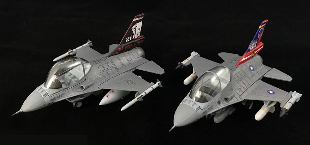 ROCAF F-16A & F-16B ブロック20プラモデル(フリーダムモデルコンパクトシリーズNo.162709)商品画像_2