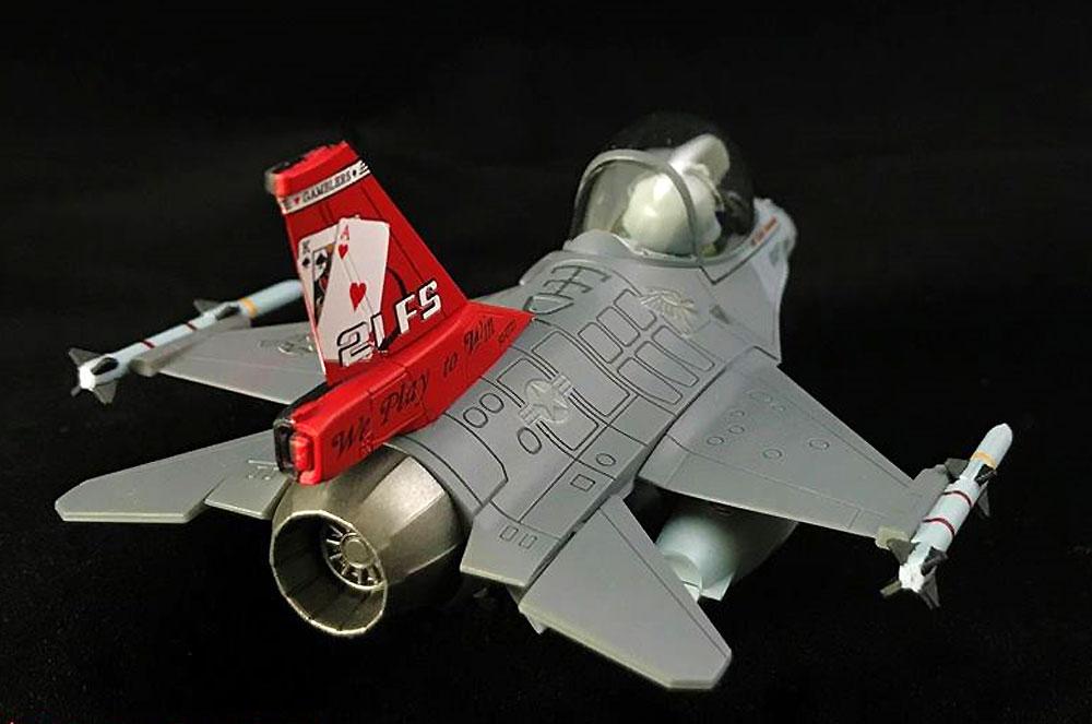 ROCAF F-16A & F-16B ブロック20プラモデル(フリーダムモデルコンパクトシリーズNo.162709)商品画像_3