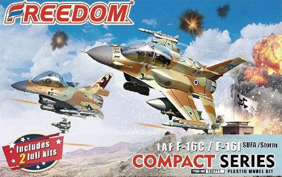 IAF F-16C バラク & F-16I スーファプラモデル(フリーダムモデルコンパクトシリーズNo.162711)商品画像