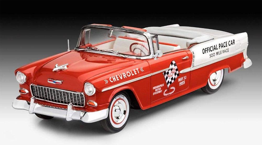 '55 シェビー インディ ペースカープラモデル(レベルカーモデルNo.07686)商品画像_2