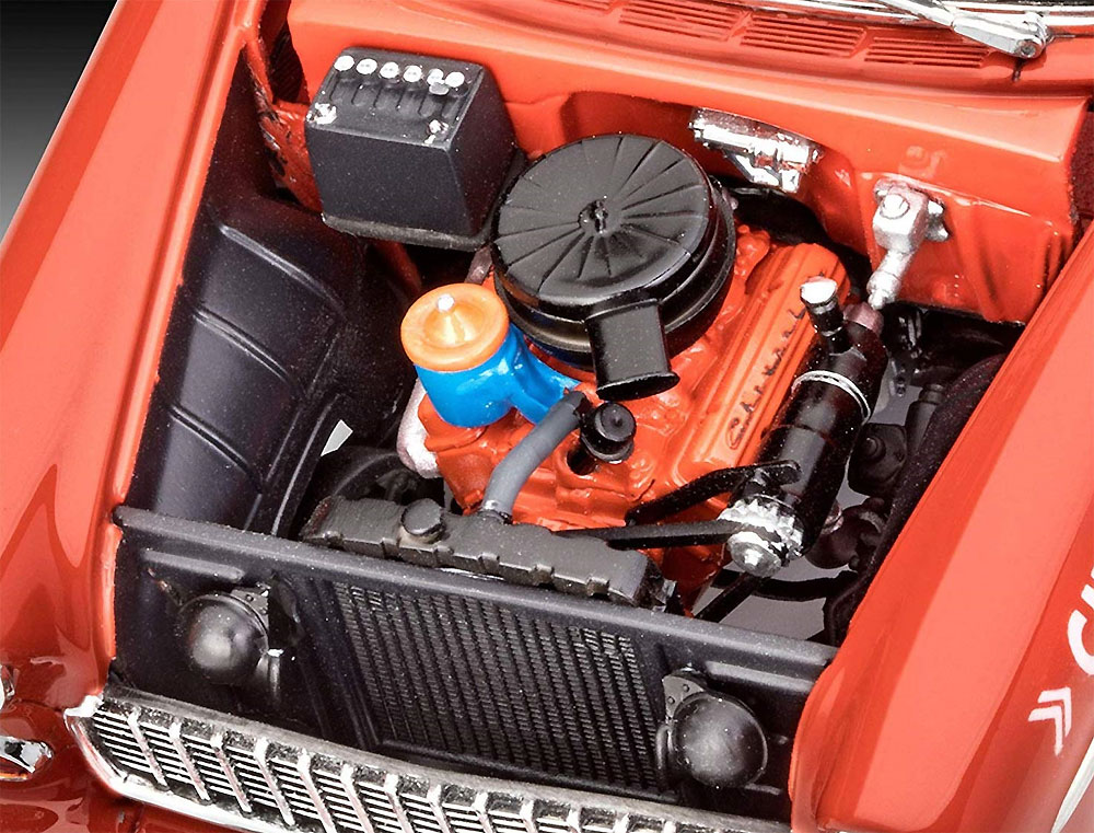 '55 シェビー インディ ペースカープラモデル(レベルカーモデルNo.07686)商品画像_3