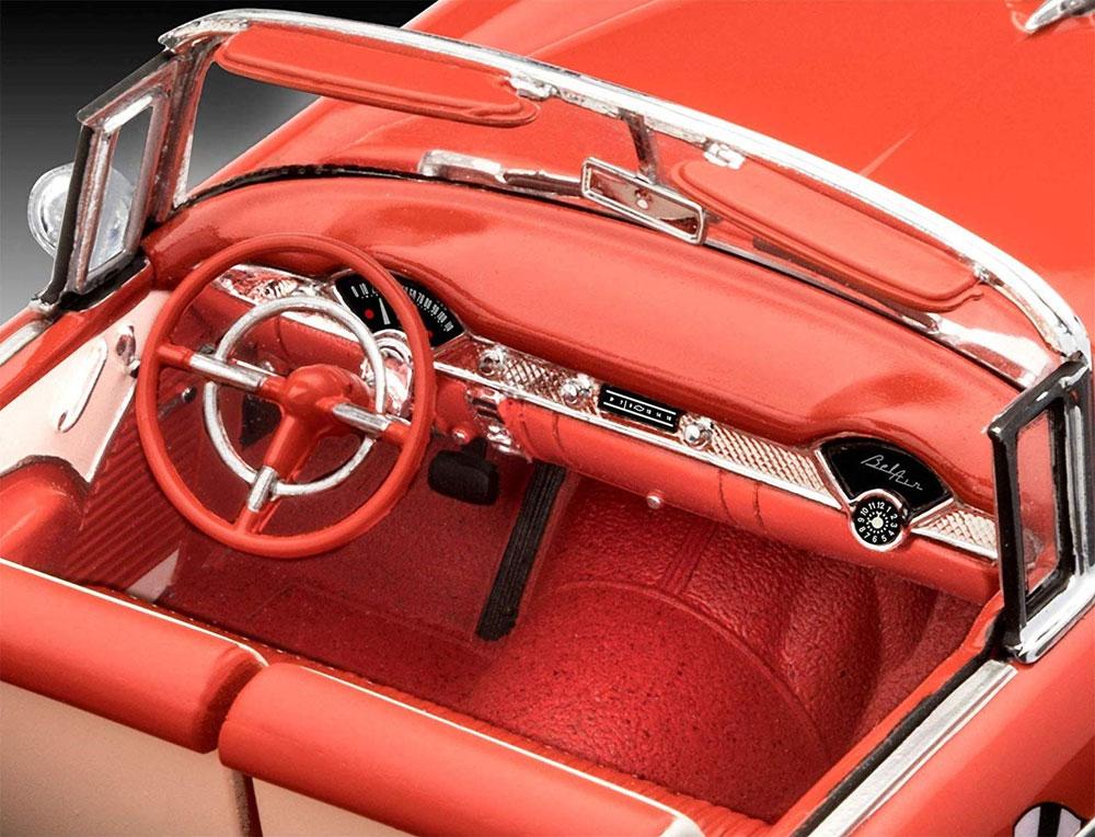 '55 シェビー インディ ペースカープラモデル(レベルカーモデルNo.07686)商品画像_4