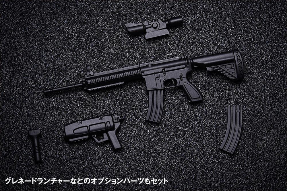AW-002 AR-416 TYPEプラモデル(ウェーブ1/12 ARMED WORLDNo.KM-032)商品画像_2