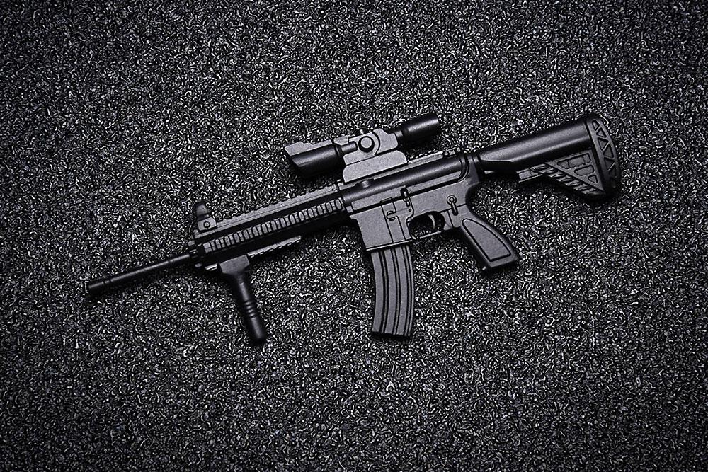 AW-002 AR-416 TYPEプラモデル(ウェーブ1/12 ARMED WORLDNo.KM-032)商品画像_4