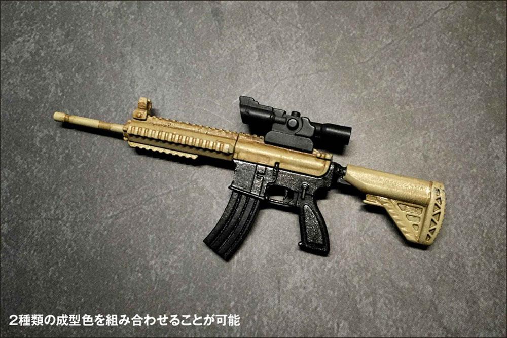 AW-002 AR-416 2in1プラモデル(橘猫工業1/12 ARMED WORLDNo.KM-033)商品画像_3