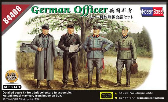 ドイツ将校 野戦会議セットプラモデル(ホビーボス1/35 ファイティングビークル シリーズNo.84406)商品画像