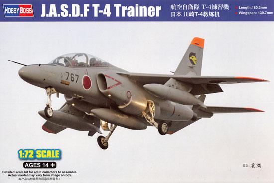 航空自衛隊 T-4 練習機プラモデル(ホビーボス1/72 エアクラフト プラモデルNo.87266)商品画像