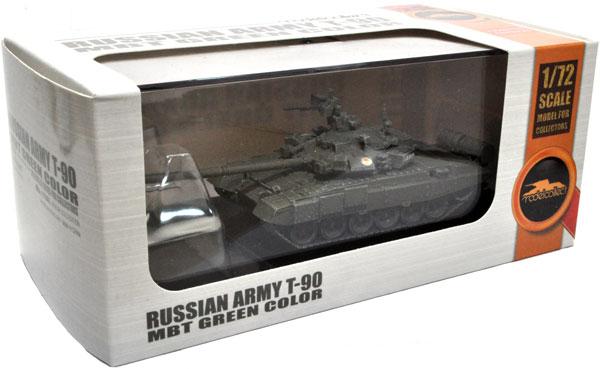 ロシア T-90 主力戦車 グリーン完成品(モデルコレクト1/72 AFV 完成品モデルNo.MODAS72137)商品画像
