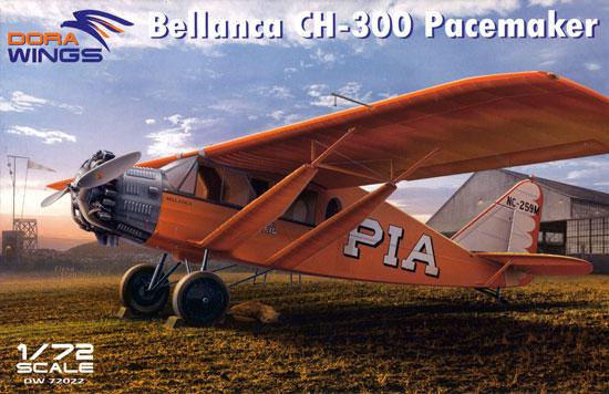 べランカ CH-300 ペースメーカープラモデル(ドラ ウイングス1/72 エアクラフト プラモデルNo.DW72022)商品画像