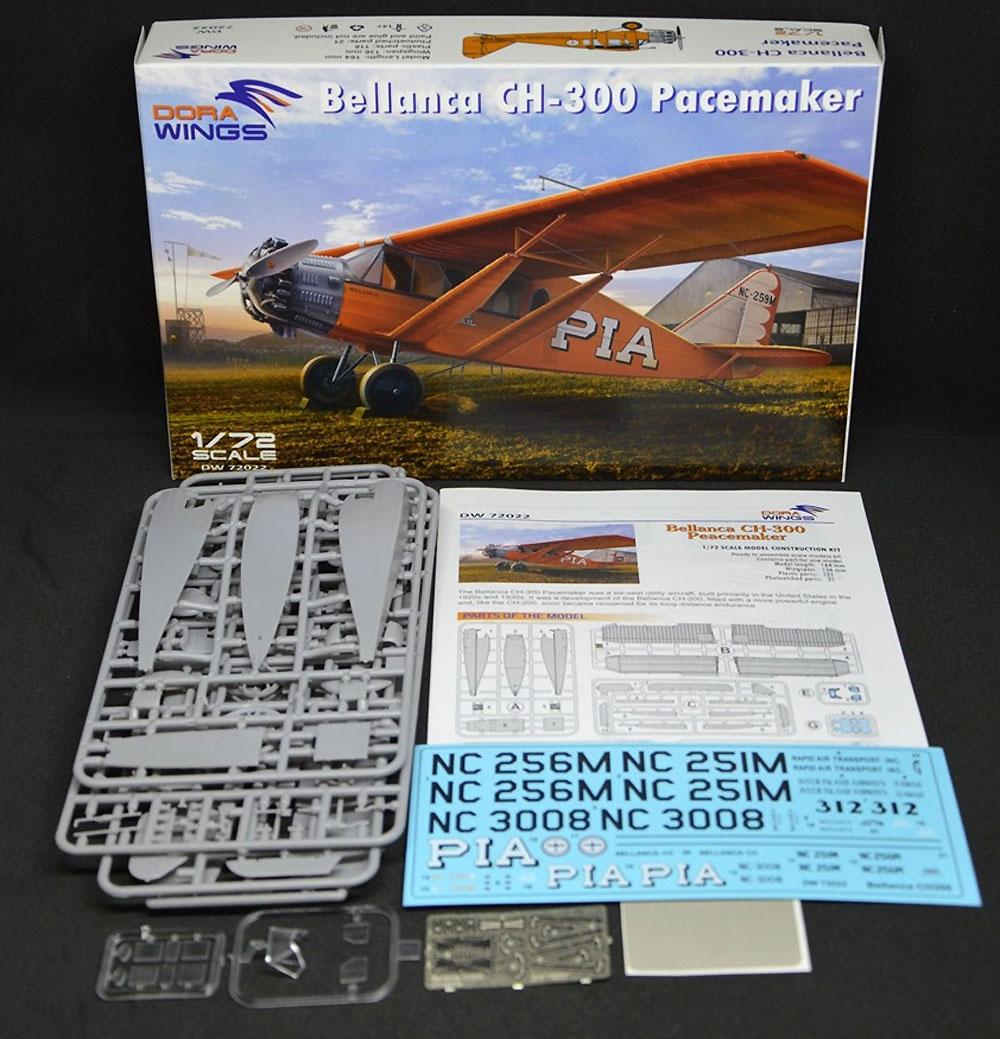 べランカ CH-300 ペースメーカープラモデル(ドラ ウイングス1/72 エアクラフト プラモデルNo.DW72022)商品画像_1