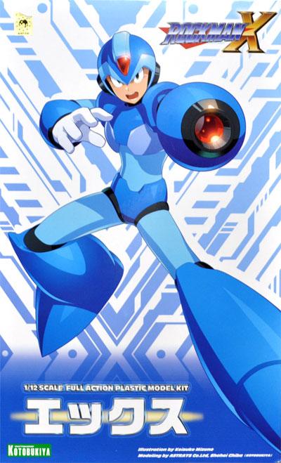 エックス (ロックマン X)プラモデル(コトブキヤロックマン プラスチックモデルキットNo.KP628)商品画像